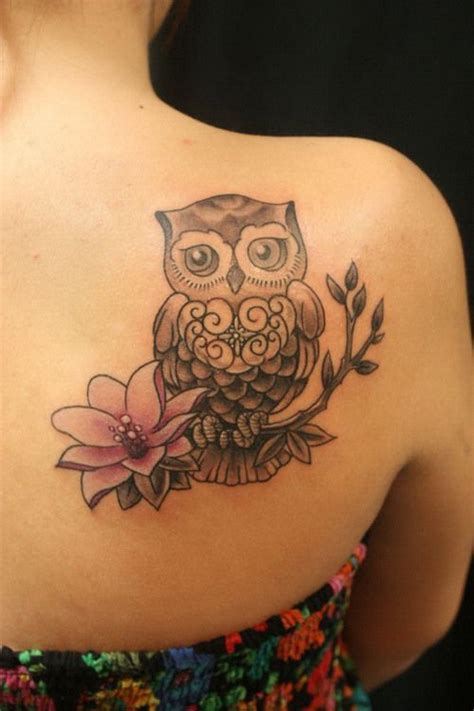 owl tattoo location 35 attractive owl tattoo ideas for creative juice