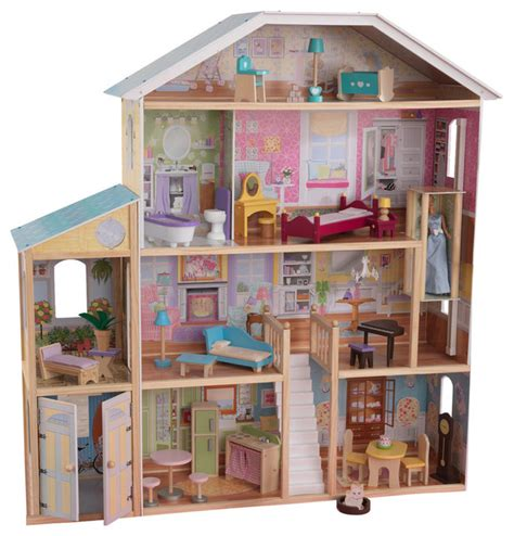 Kidkraft Majestic Mansion Dollhouse With Furniture by Kidkraft Majestic Mansion With Furniture 65252