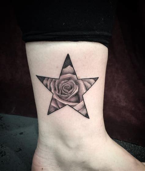 rose star tattoos 21 tattoos designs ideas design trends premium