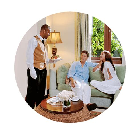 room service club all inclusive luxury resort concierge services sandals resorts