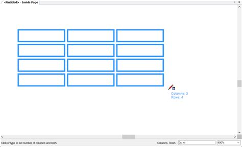 table layout row height adding tables to a document sketchup knowledge base