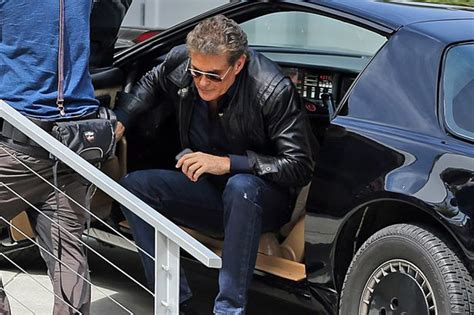 Hasselhoff Admits Rider Car Was 2 by David Hasselhoff Has A Mare As He Recreates