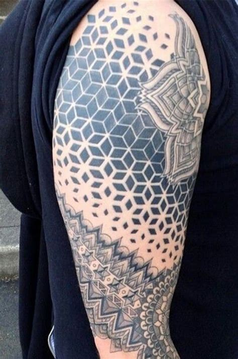 geometric tattoos designs 125 top geometric designs this year