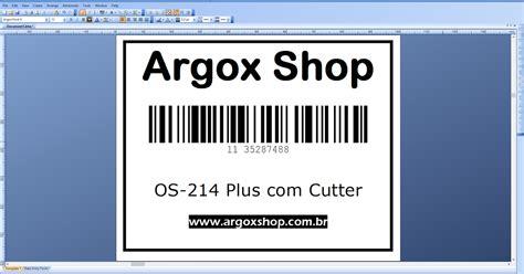 Barcode Printer Argox Os214 argox os 214 printer driver