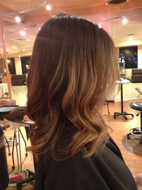 Medium Length Balayage Highlights | the gallery for gt balayage shoulder length hair