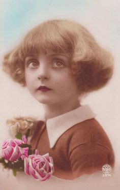 1920 childs hairstyle 1000 images about vintage postcards people on pinterest