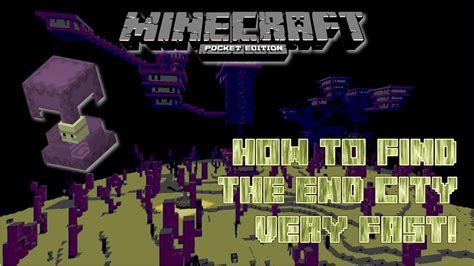 Lost 1 17 End minecraft pocket edition how to find an end city fast mcpe 0 17 new command