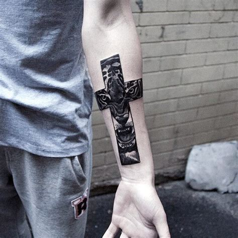 best wrist tattoo for men top 60 best cross tattoos for photo ideas and designs