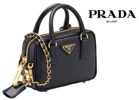Sale Jual Tas Bag Prada On Top Leather Mirror Black prada bags singapore prada bags pink orchard luxury brands