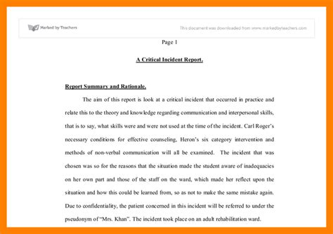 Sle Incident Report Letter For Being Late incident report letter template 28 images 8 sle of incident report letter resumed 9 how to