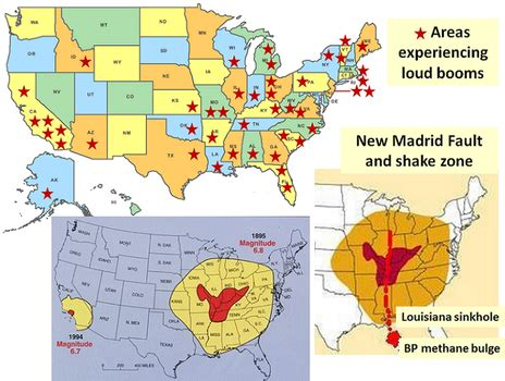 Sink Holes Usa by Mystery Loud Booms And New Madrid Fault The Big Picture
