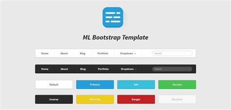 win themes and hot buttons 50 free bootstrap templates themes