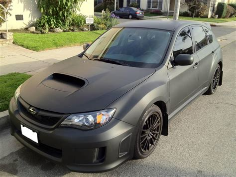 My11 Wrx Hatch Wrapped Matte Black Dgm Nasioc Vinyl