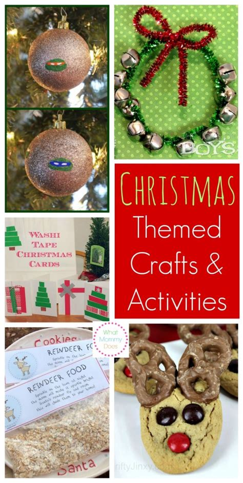 christmas themed crafts games activities for kids