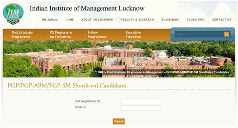 Lucknow Mba Admission Procedure by Iim Lucknow Shortlist Criteria Award 60 Weight To Cat