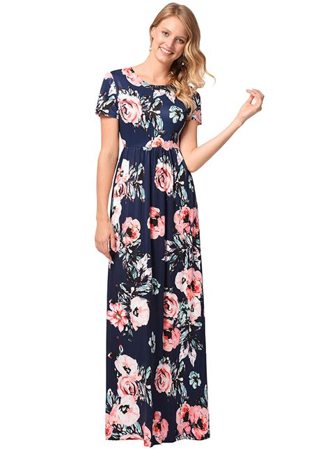 Sleeve Printed Maxi Dress s floral printed sleeve maxi dress roawe