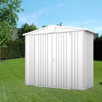 8 X 3 Metal Shed by 8 X 3 Premium Heavy Duty Metallic Silver Metal Shed 2 44m
