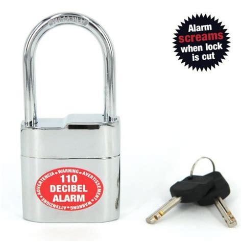 Alarm Padlock lock alarm padlock lock alarm