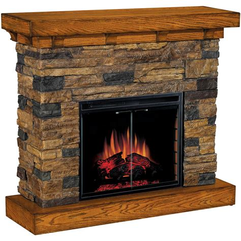 flagstone fireplace classic flame flagstone electric fireplace 175732
