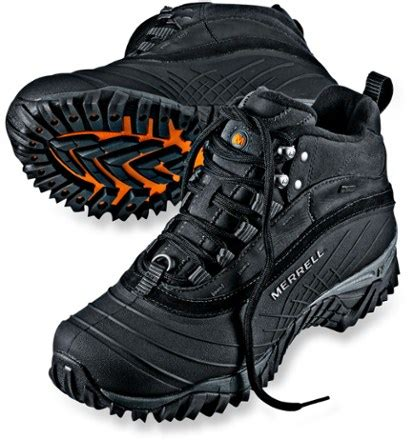 rei mens winter boots merrell isotherm 6 waterproof winter boots s at rei