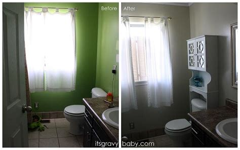Bathroom Makeover In A Day Bathroom Makeover In A Day Gliddentesters It S Gravy Baby