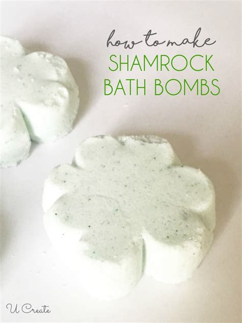 How To Make Shower Fizzies by Shamrock Bath Bomb Tutorial U Create