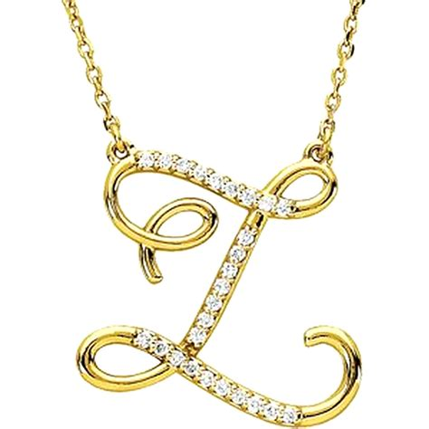 alphabet initial letter necklaces a to z boomer