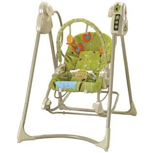 fisher price swing zoo fisher price spacesaver swing and seat luv u zoo