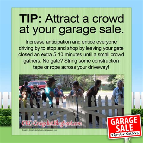 Garage Sale Okc by Garage Sale Tip This Is How You Draw A Crowd