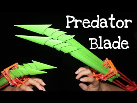 How To Make Wolverine Claws Out Of Paper - how to make a paper black panther claws funnydog tv