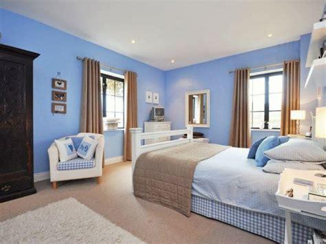 Beige Wandfarbe Schlafzimmer by Schlafzimmer Farben Eine Farbkombination Aus Beige Und Blau
