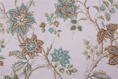robert allen drapery fabric robert allen meadow view printed cotton drapery fabric in