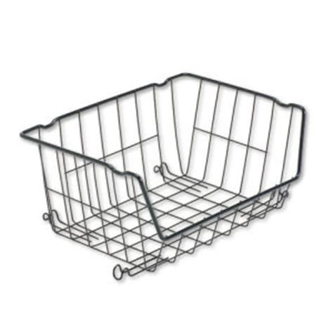 Rubbermaid Shelf Basket by Best Sliding Wire Basket For Wire Shelving Alesw59wb1818sr