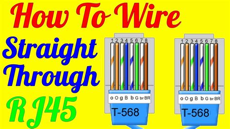 wiring diagram cat 5 cable ethernet twisted pair