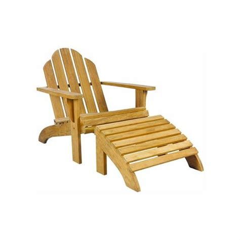 Wooden Lounge Chair by Adirondack Lounge Chair And Ottoman Chaises Occasional