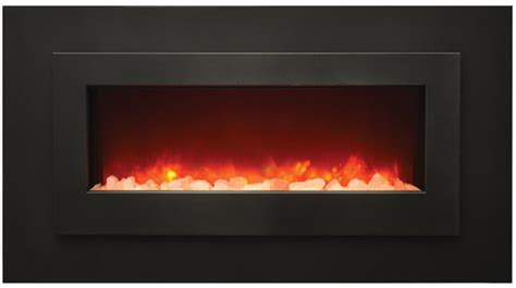 Fireplace Overlay by Wm Fml 48 Linear Electric Fireplace Amantii Electric