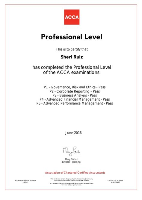 How To Apply Mba Degree After Acca by Acca Certificate