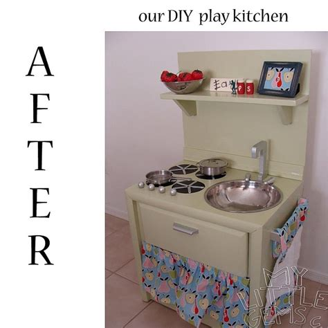 pretend kitchen furniture 31 best images about baker s dozen diy play kitchens on