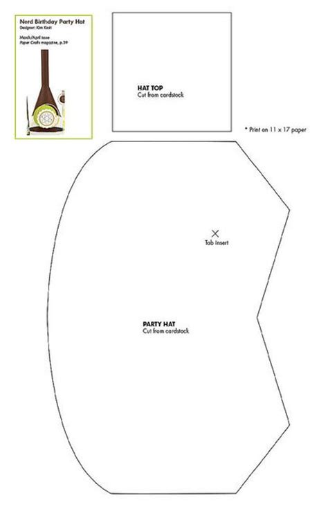 Dunce Hat Template free dunce cap hat pattern patterns for cards card bases boxes bags and