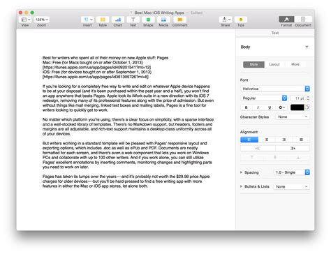 best free apple the best cross platform writing apps for mac and ios