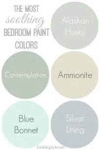 calming paint colors how to decide on bedroom paint colors from beddingstyle
