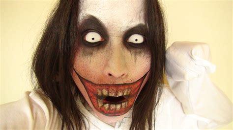 jeff the killer makeup tutorial jeff the killer makeup2 by kisamake on deviantart
