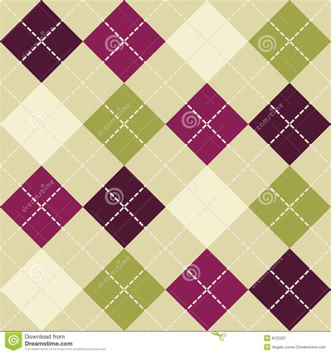 seamless argyle pattern seamless argyle pattern stock vector image of tile