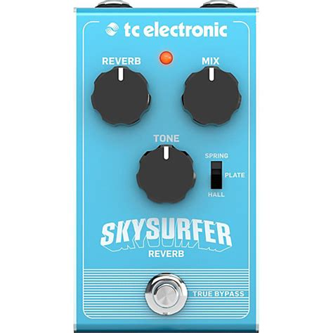 tc electronic skysurfer reverb effect pedal guitar center