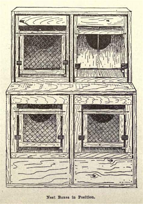 build  trap nest box  hens  plan