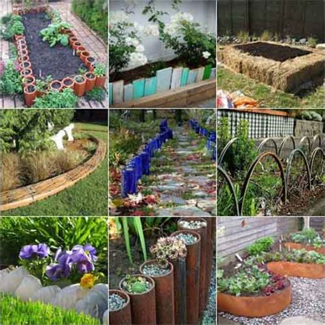 Easy Garden Bed Ideas 18 Gardening Bed Edging Ideas That Are Easy To Do Lil Moo Creations