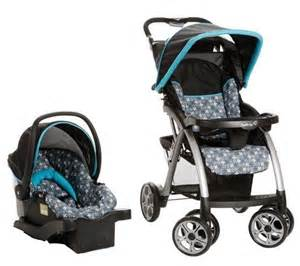 travel system baby stroller car seat combo set pram