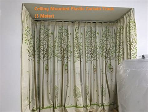 3 metre curtain track strong bendable plastic curtain track 3 meters bendable