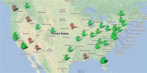 theme parks in us theme park map