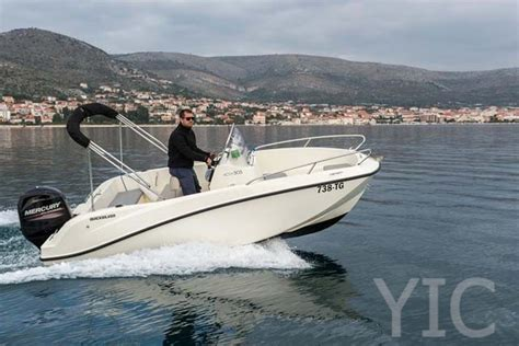 quicksilver small boat small boat charter quicksilver 505 activ open yachts in